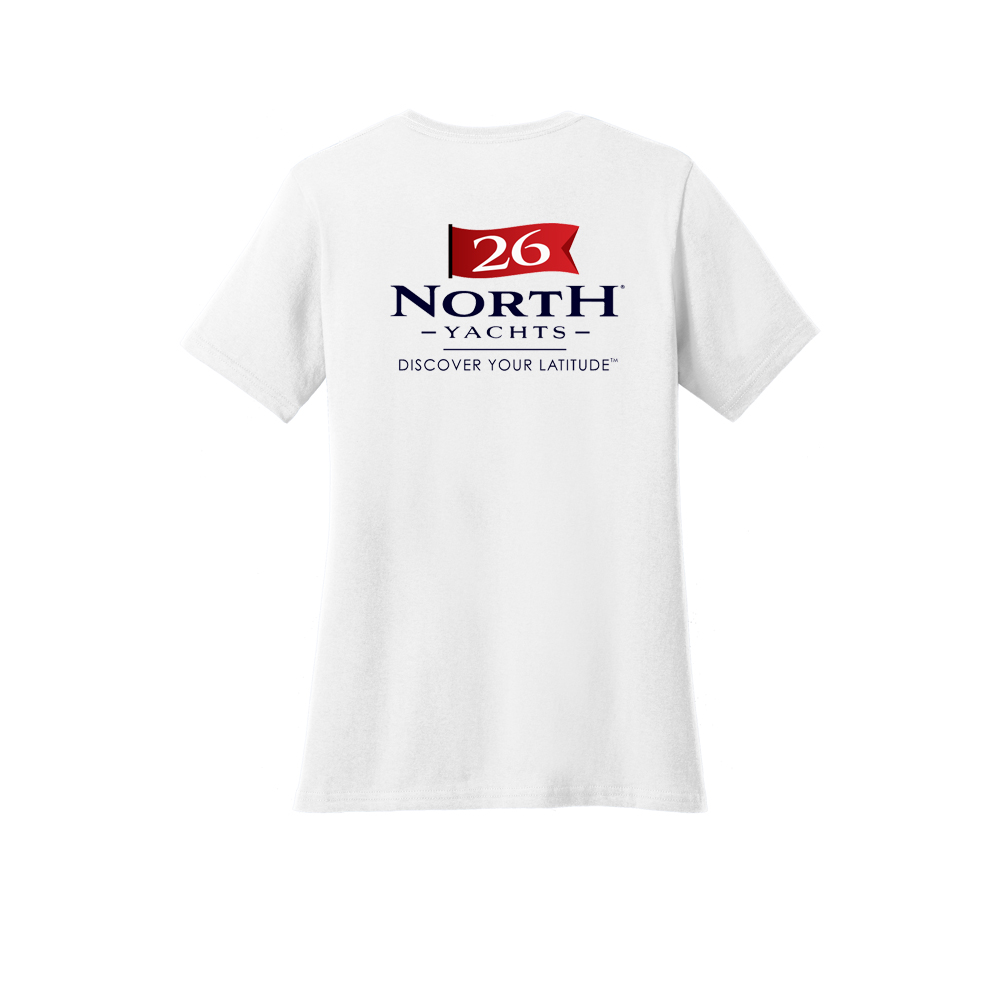 26 North Yachts - Women's Short Sleeve Cotton Tee