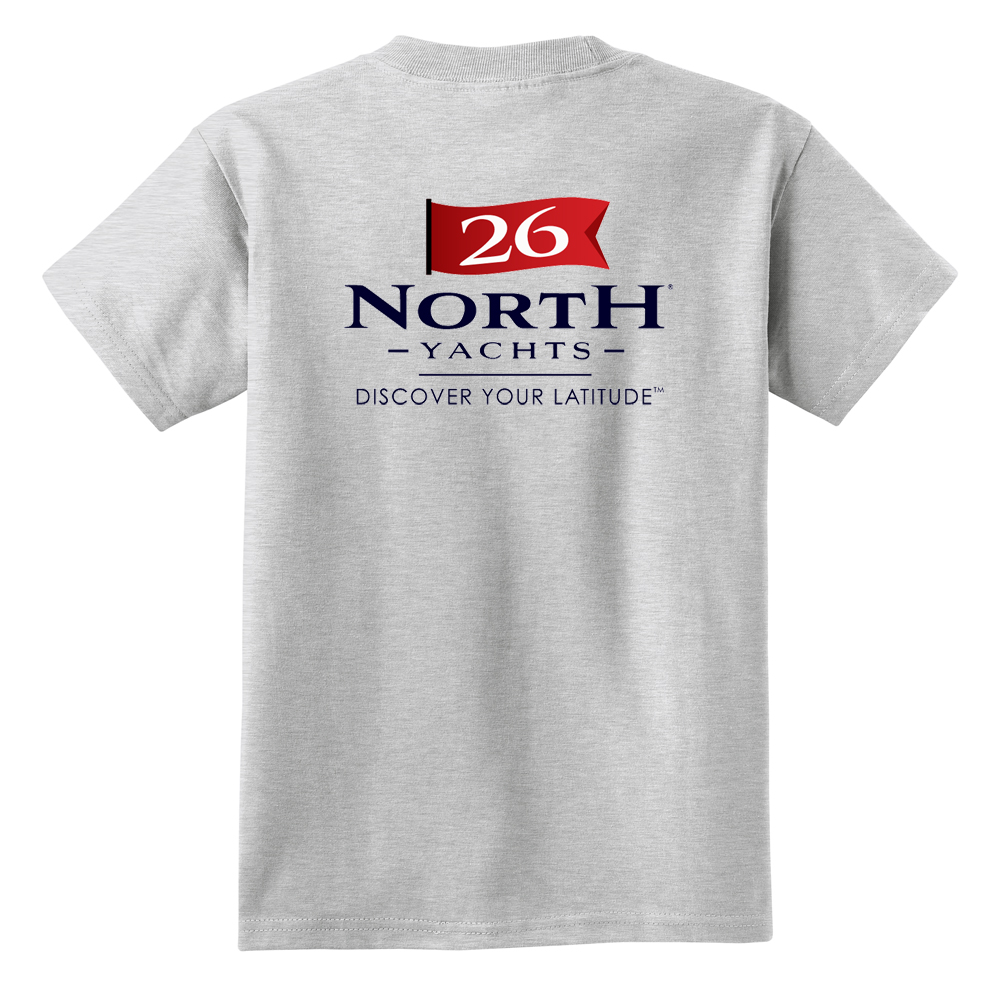 26 North Yachts - Kid's Short Sleeve Cotton Tee