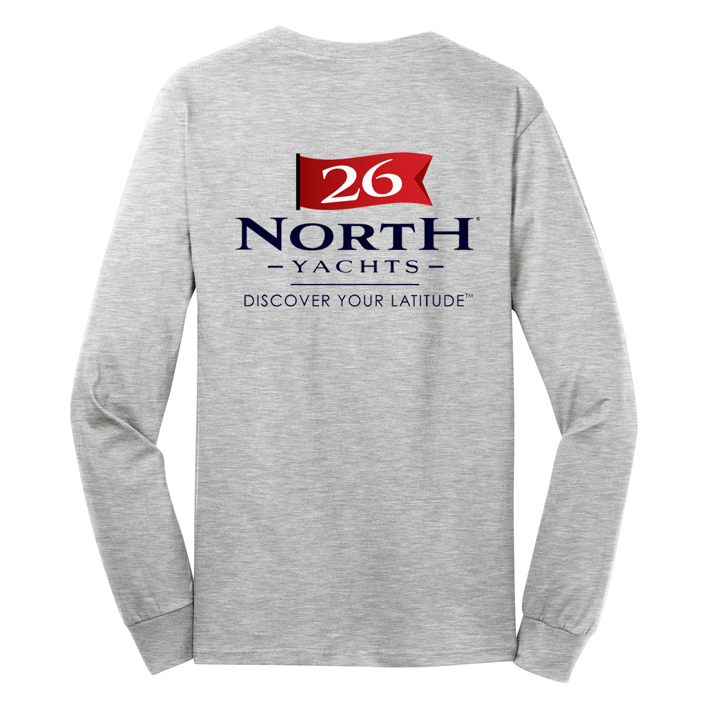 26 North Yachts - Men's Long Sleeve Cotton Tee