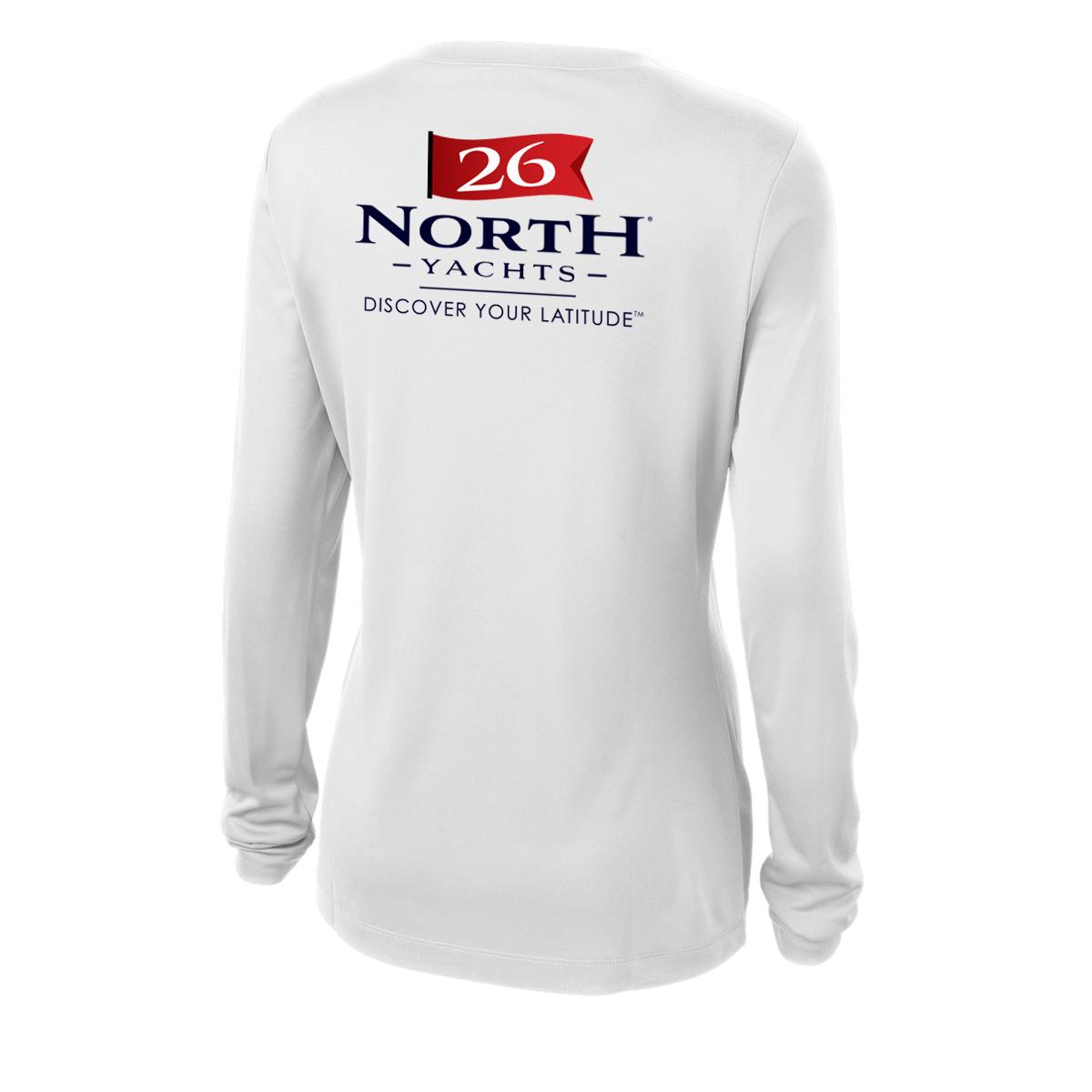 26 North Yachts - Women's Long Sleeve Tech Tee (26NY215)