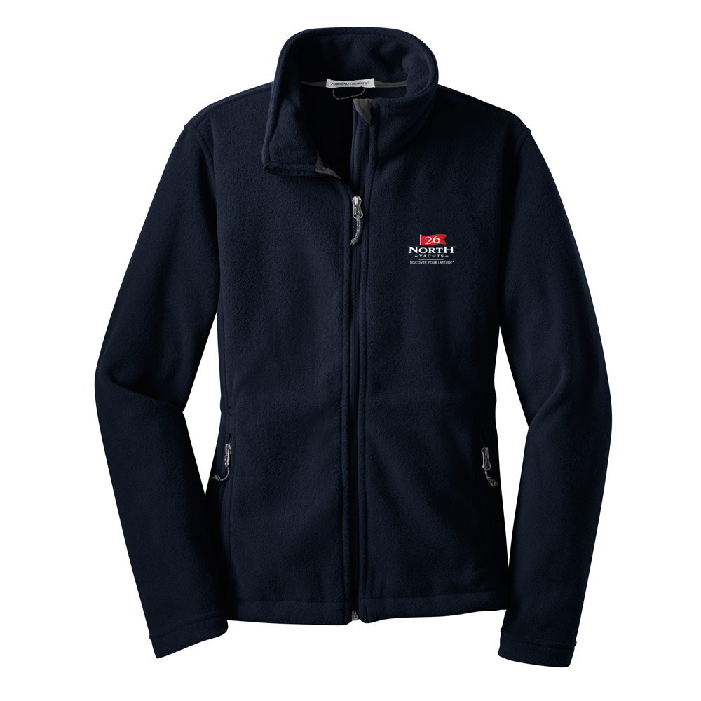 26 North Yachts - Women's Fleece Full Zip Jacket (26NY511)