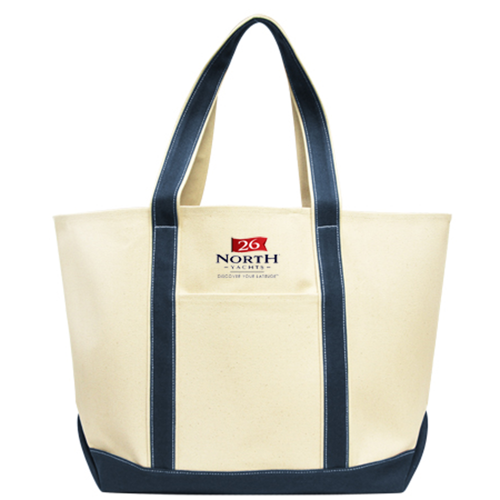 26 North Yachts Canvas Tote