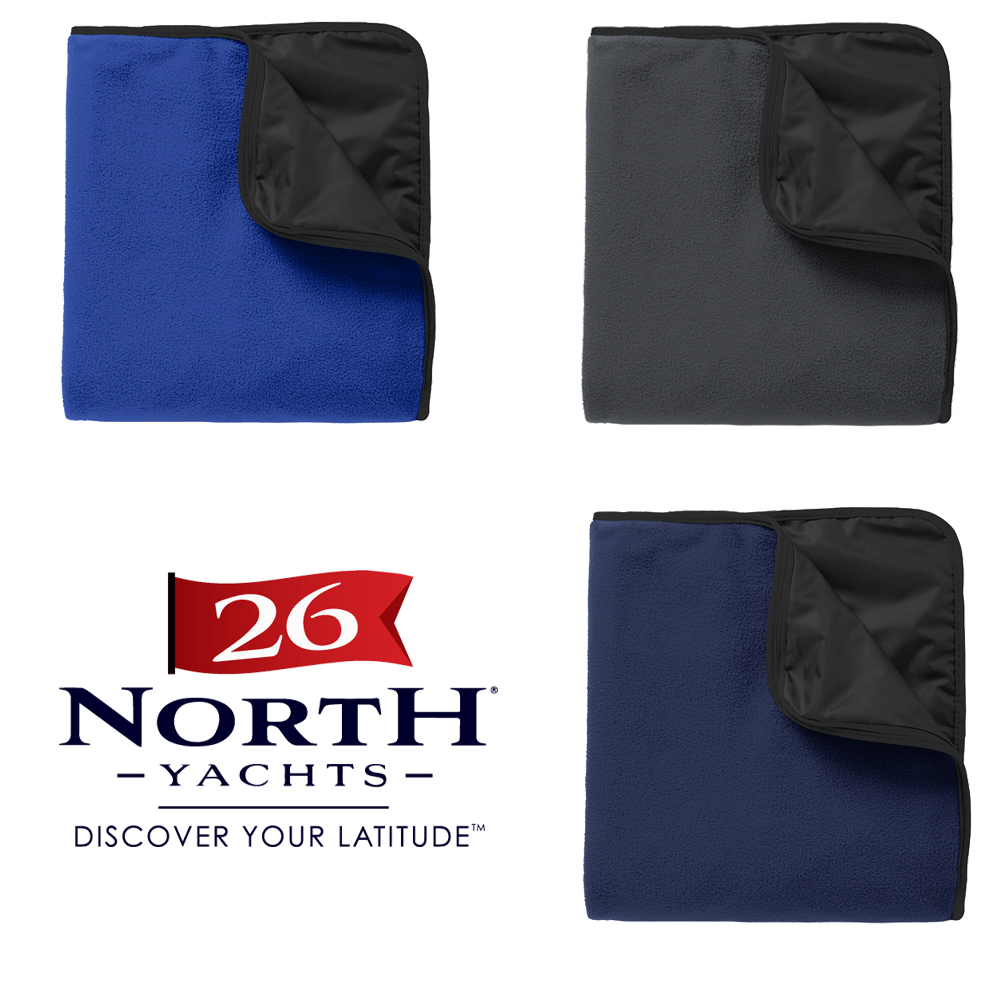 26 North Yachts - Shelled Fleece Blanket (26NY704)