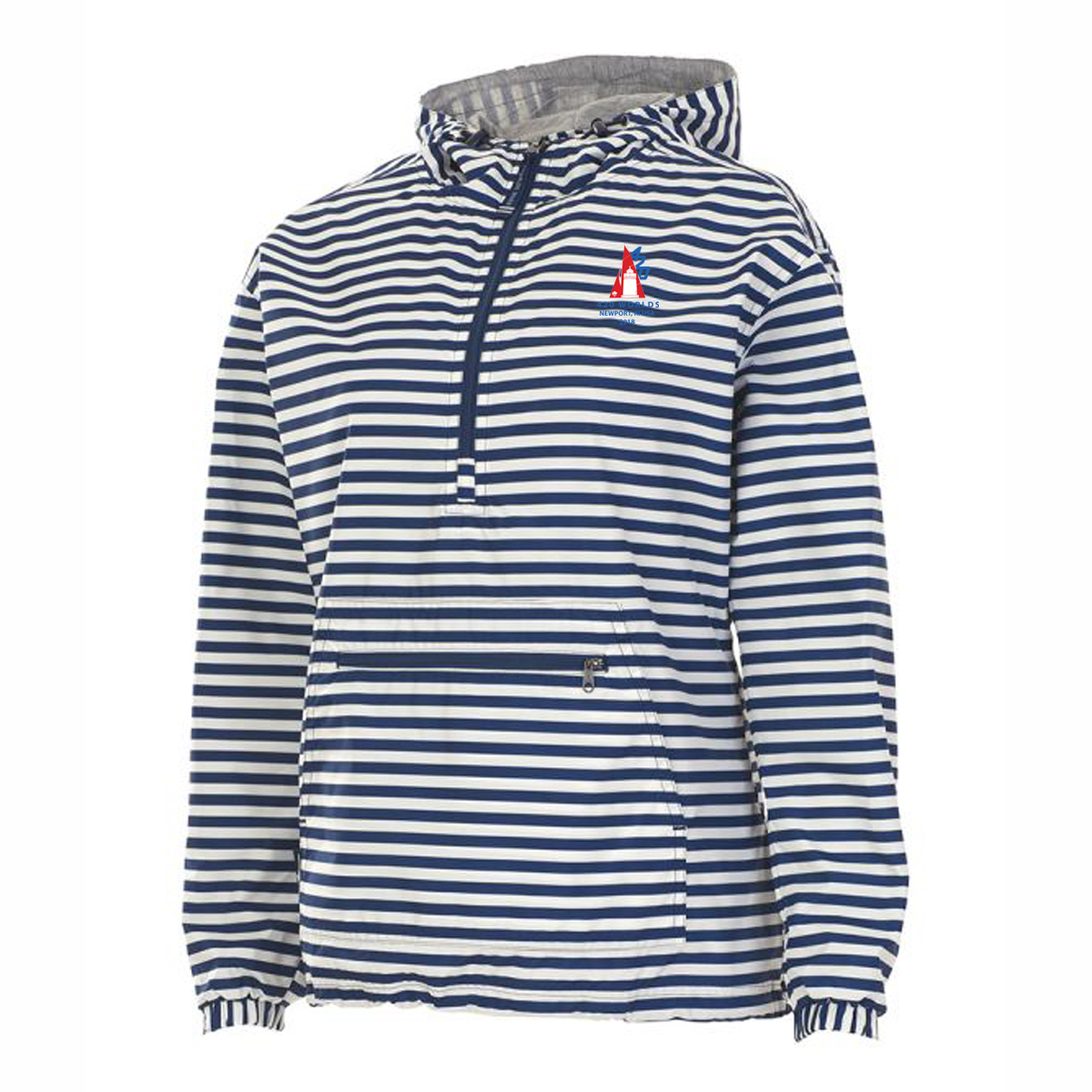 420 WORLDS - W'S STRIPED  PULLOVER