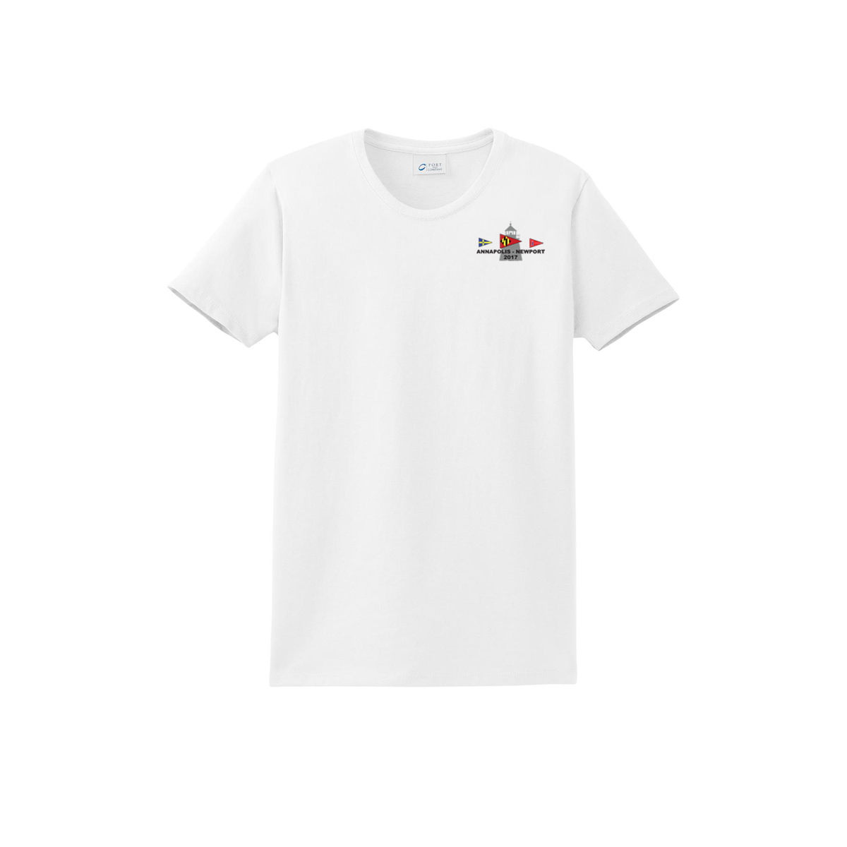 Annapolis to Newport 2017 - Women's Short Sleeve Cotton Tee