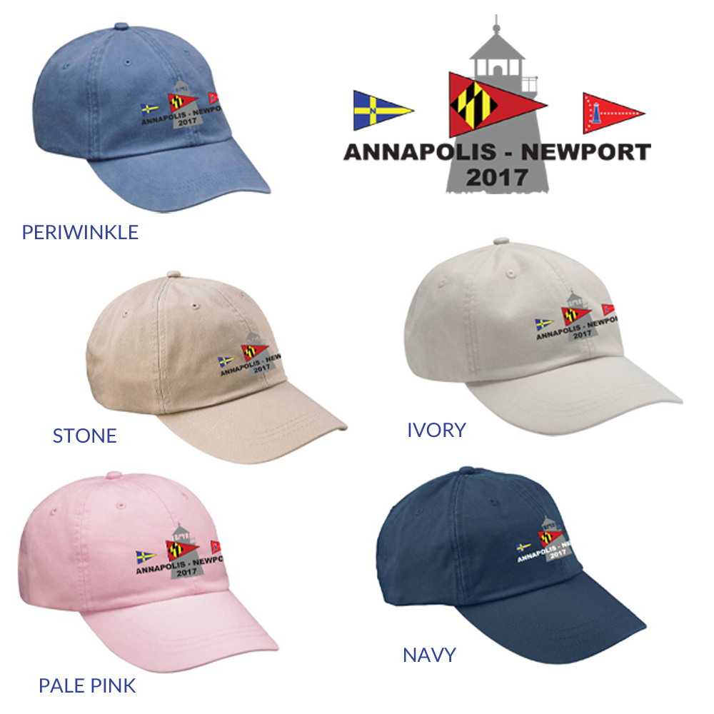 ANNAPOLIS TO NEWPORT ADJUSTABLE HAT