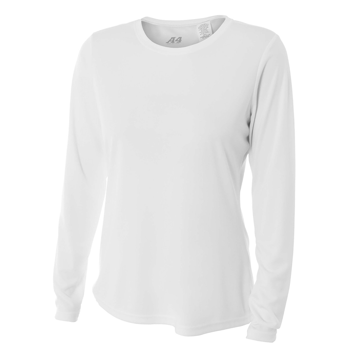 A4 Ladies Long Sleeve Performance Crew (NW3002)