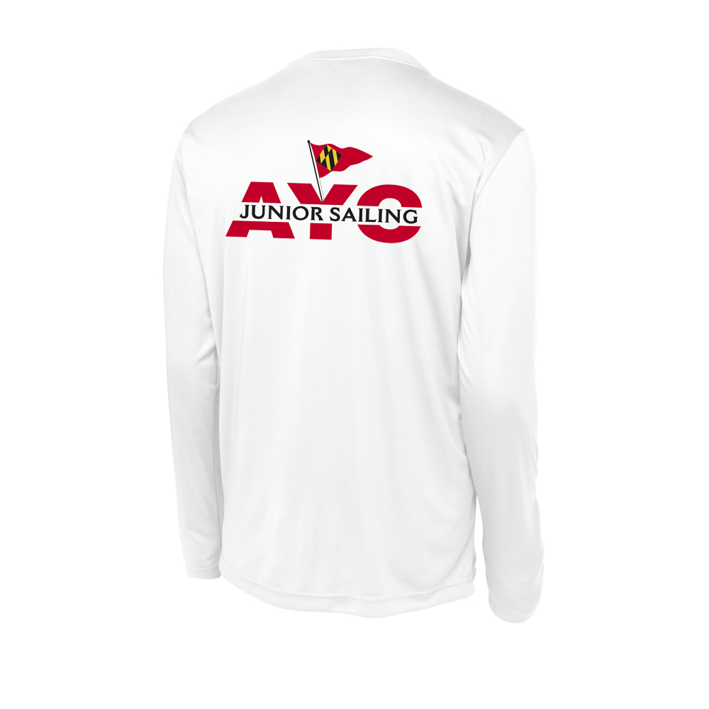 Annapolos Jr Yacht Club - Men's Long Sleeve Tech Tee (AJYC222)