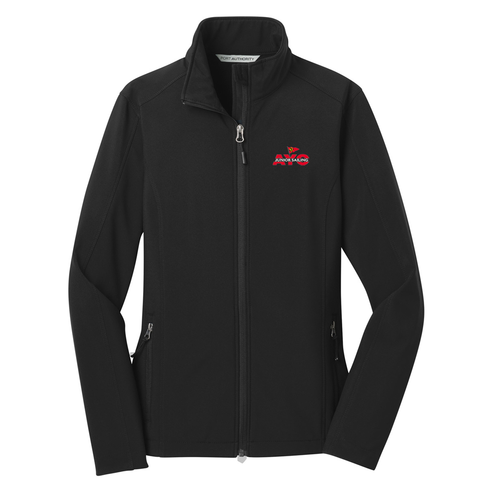 Annapolis Jr Yacht Club - Women's Softshell Jacket (AJYC616)