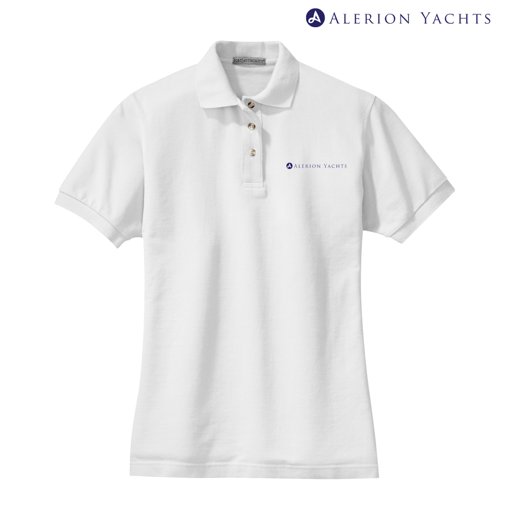 ALERION YACHTS - Women's COTTON POLO