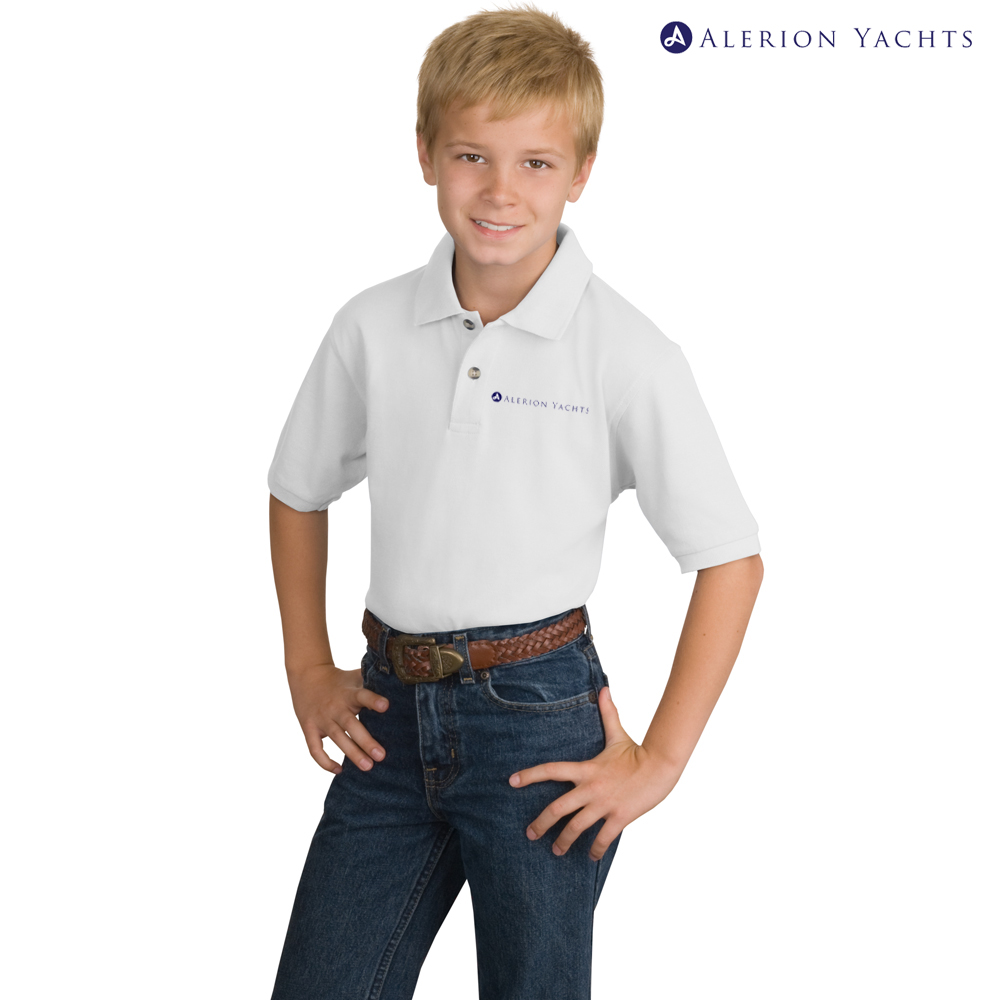 ALERION YACHTS - K'S COTTON POLO