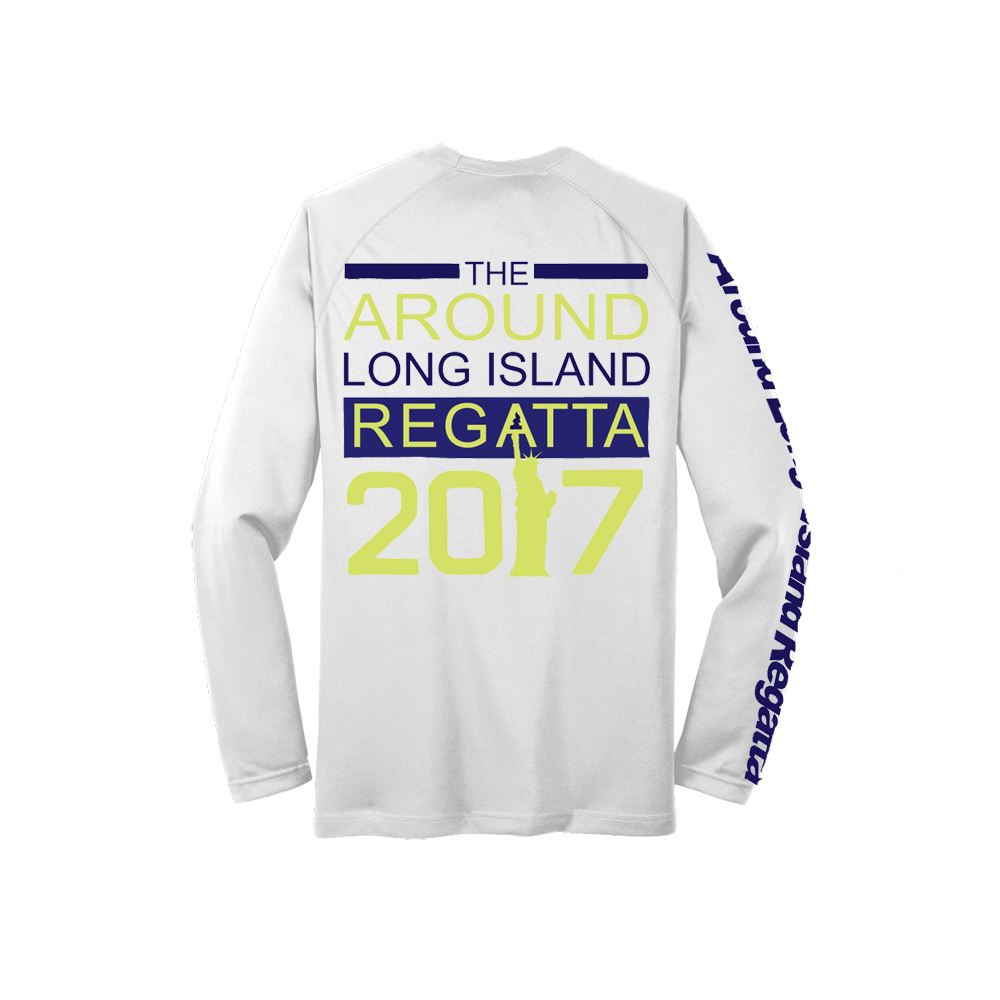 Around Long Island Race 2017 - Men's Long Sleeve Tech Tee