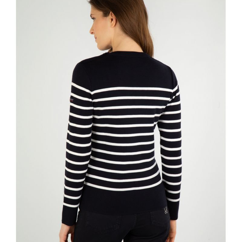 Armor Lux Wool Sweater with Shoulder Buttons (00466) Team