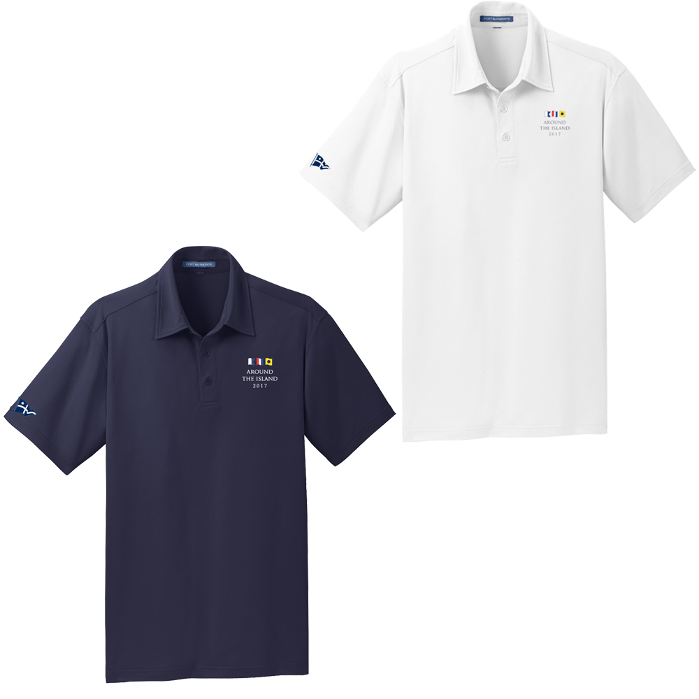 AROUND THE ISLAND - MEN'S TECH POLO