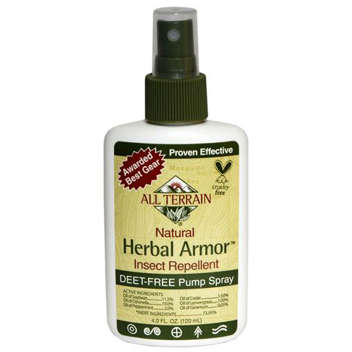 ALL TERRAIN HERBAL ARMOR NATURAL INSECT REPELLANT 4 OZ