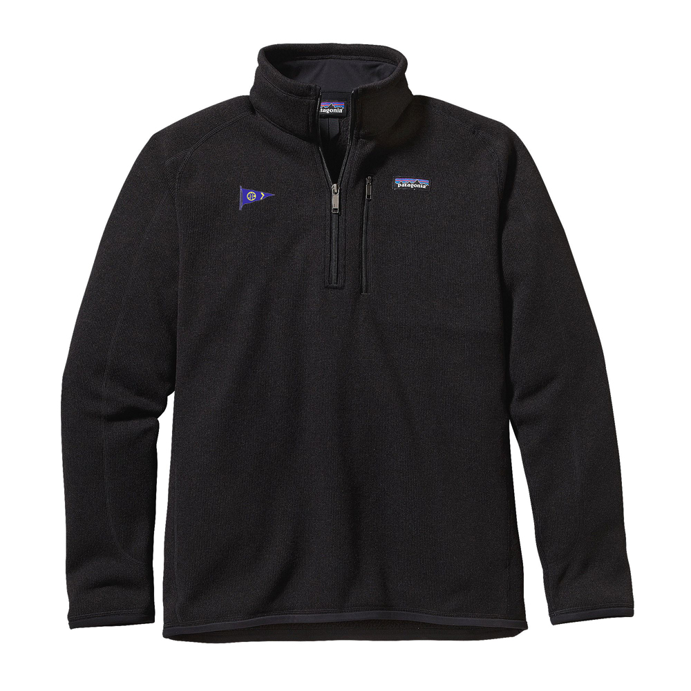 AVALON YACHT CLUB M'S PATAGONIA BETTER SWEATER 1/4 ZIP