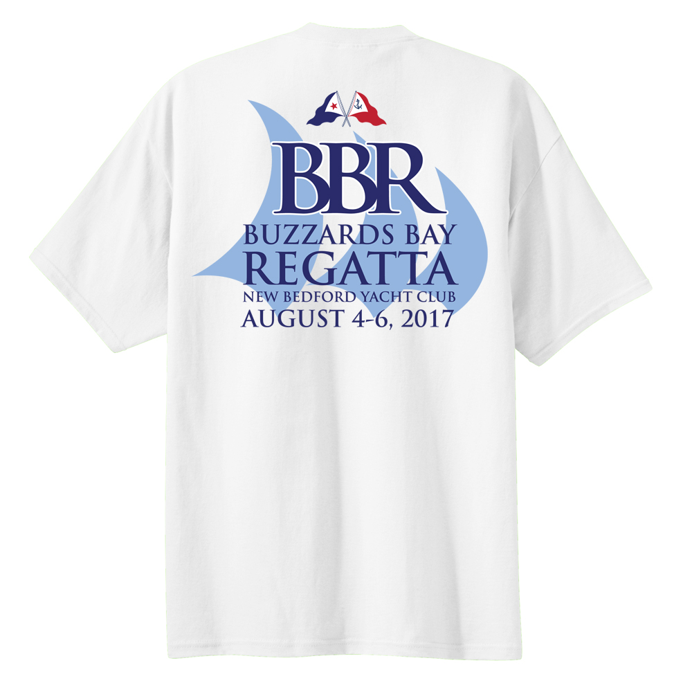 2017 Buzzards Bay Regatta - Men's Short Sleeve Cotton Tee