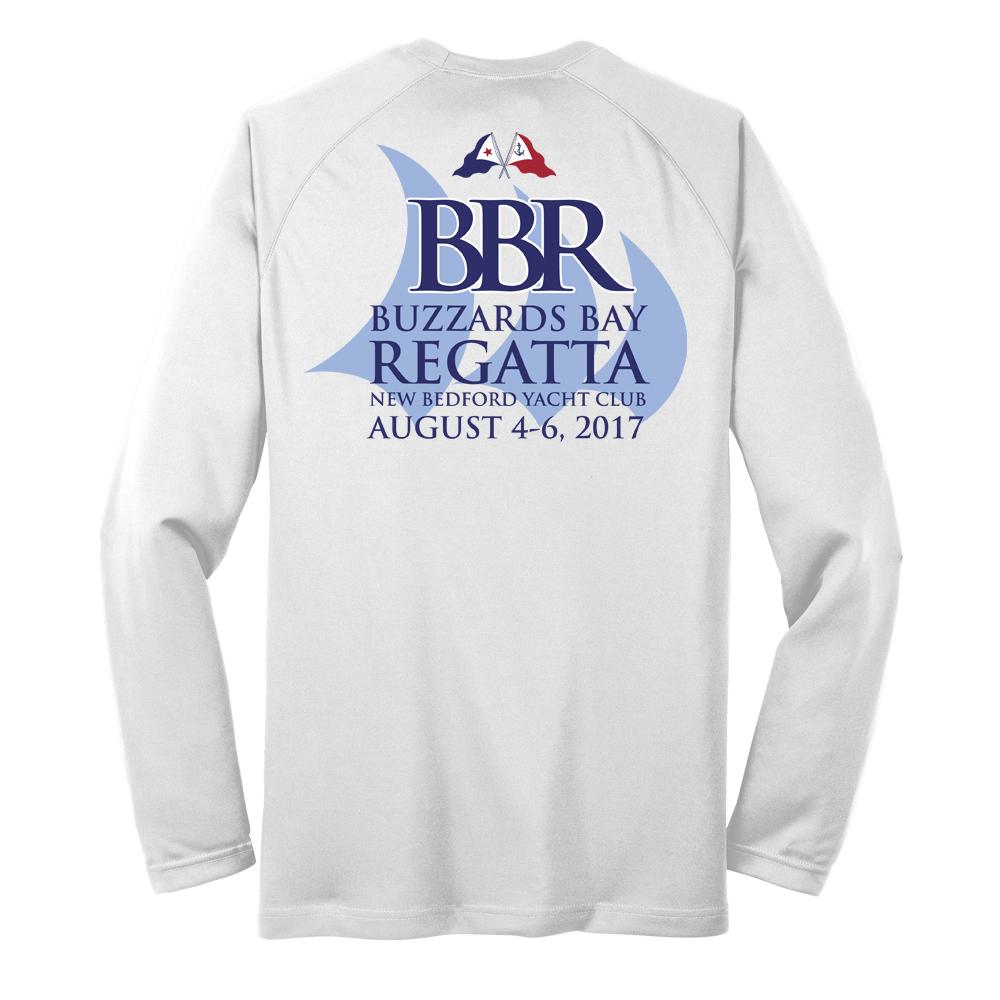 2017 Buzzards Bay Regatta - Men's Long Sleeve Tech Tee