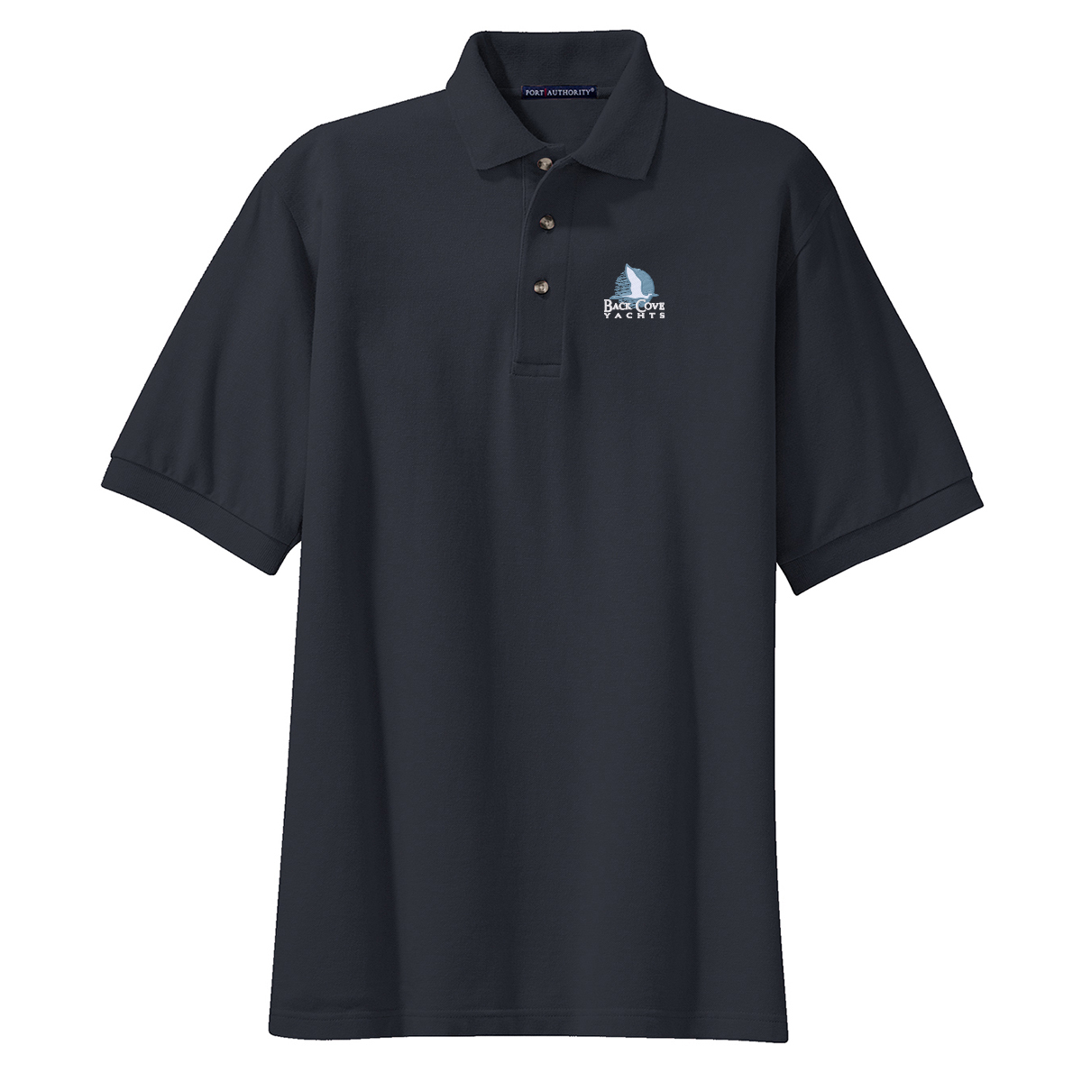 Back Cove Yachts - Men's Cotton Polo