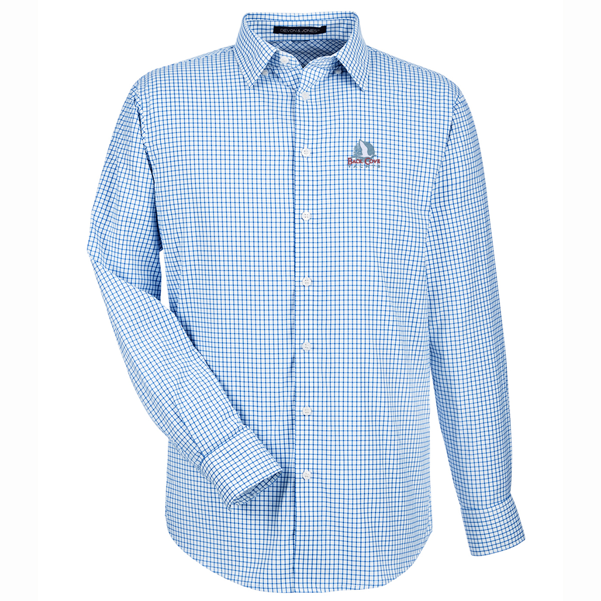 Back Cove Yachts - Men's Crown Lux Perfect Window Pane Shirt