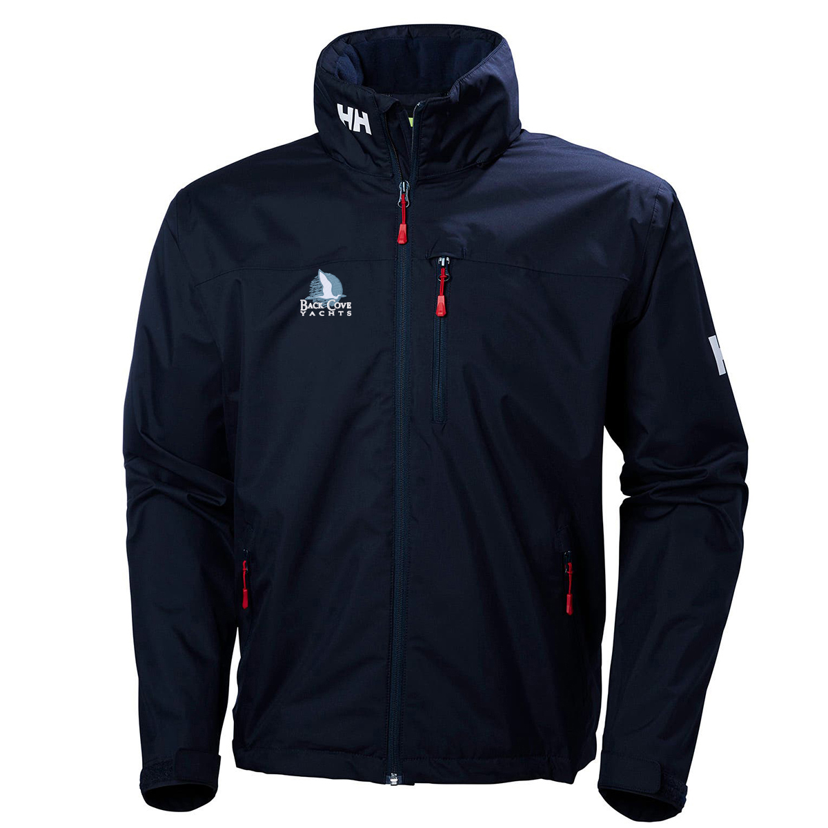 Back Cove Yachts - Helly Hansen Men's Hooded Crew Jacket