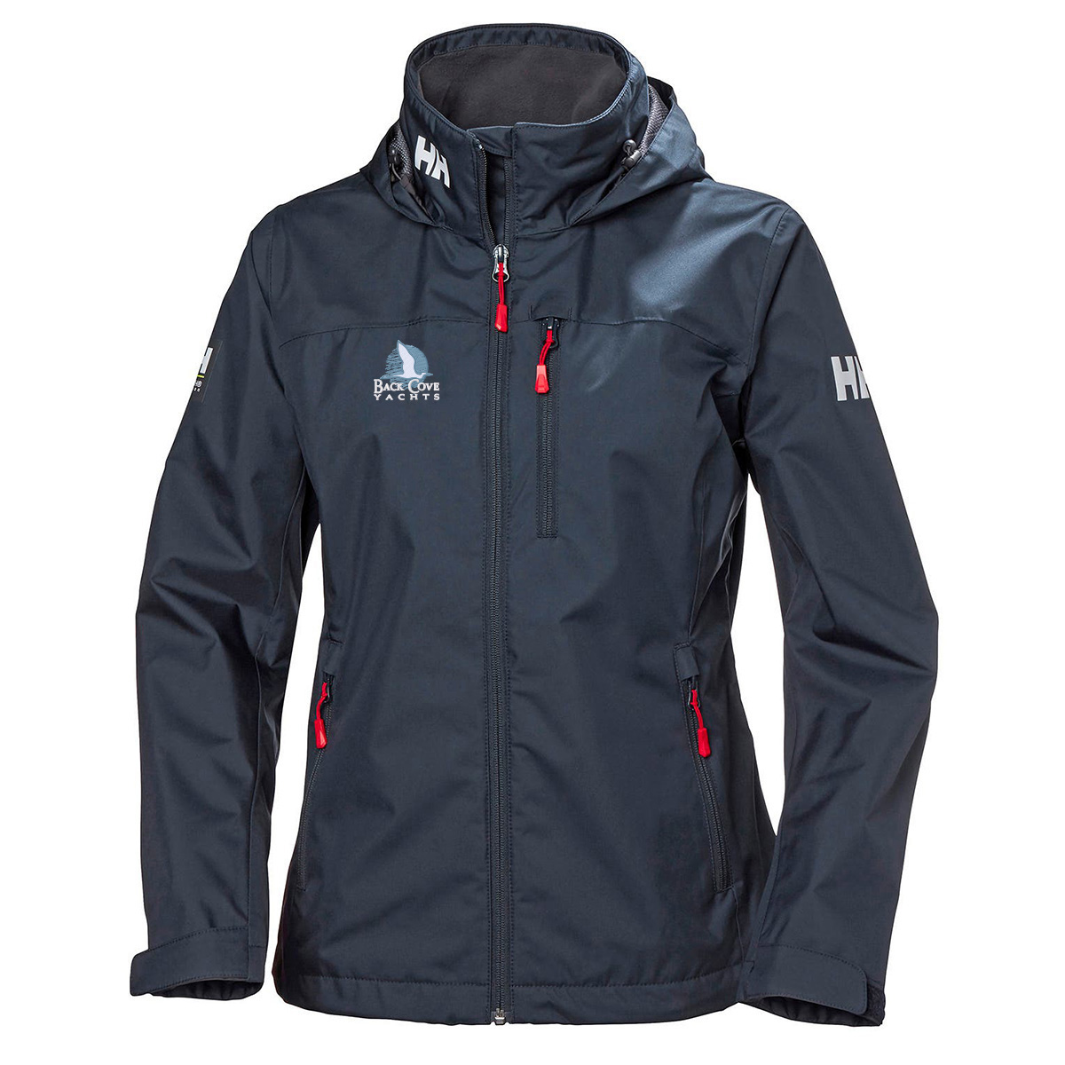 Back Cove Yachts - Helly Hansen W's Hooded Crew Jacket