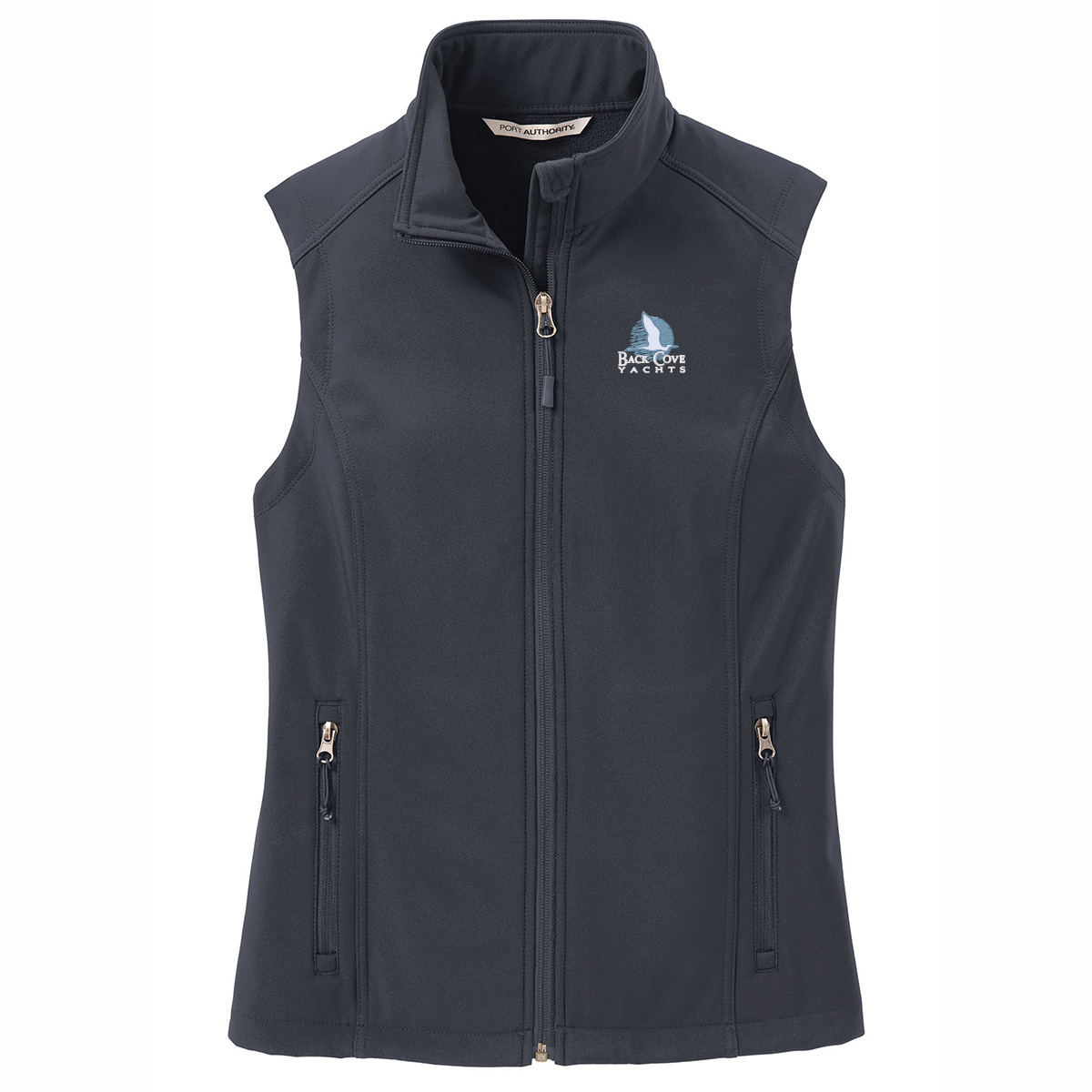 Back Cove Yachts - PA Women's Softshell Vest