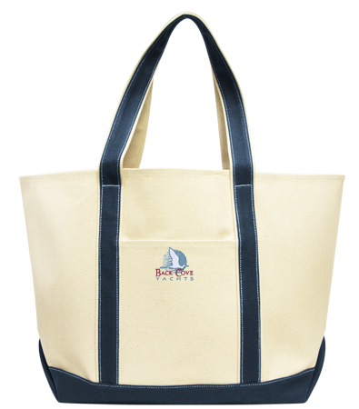 Back Cove Yachts - Canvas Tote
