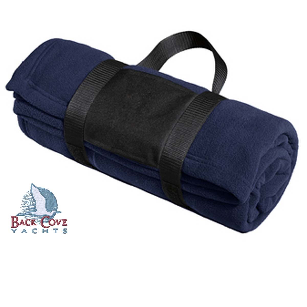 Back Cove Yachts - Fleece Blanket