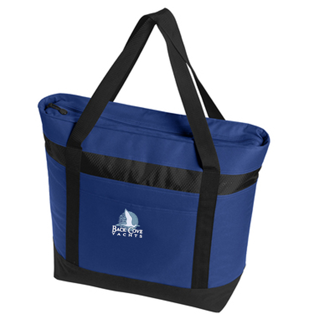 Back Cove Yachts - Large Cooler Tote