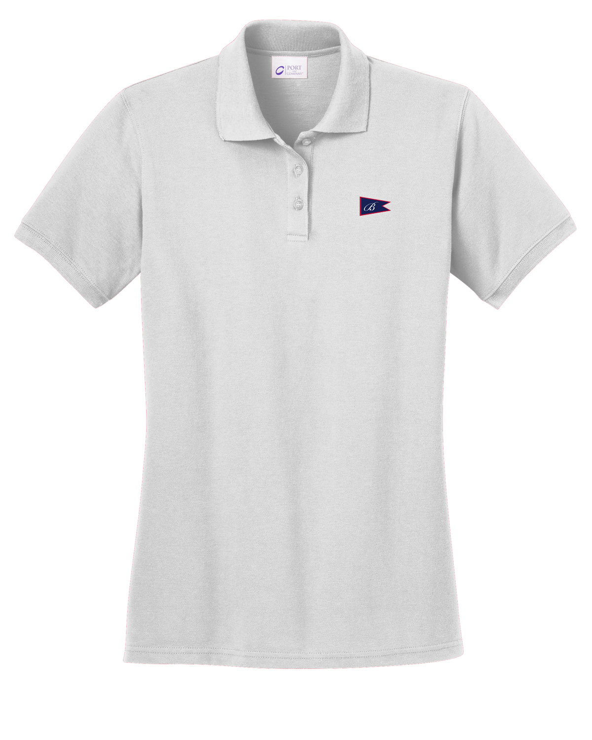 BOATHOUSE OF HARBOR SPRINGS WOMEN'S COTTON POLO