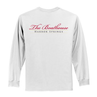 Boathouse of Harbor Springs - Men's Long Sleeve Cotton Tee