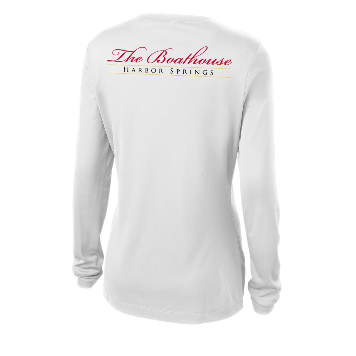 Boathouse of Harbor Springs - Women's Long Sleeve Tech Tee (BHS214)
