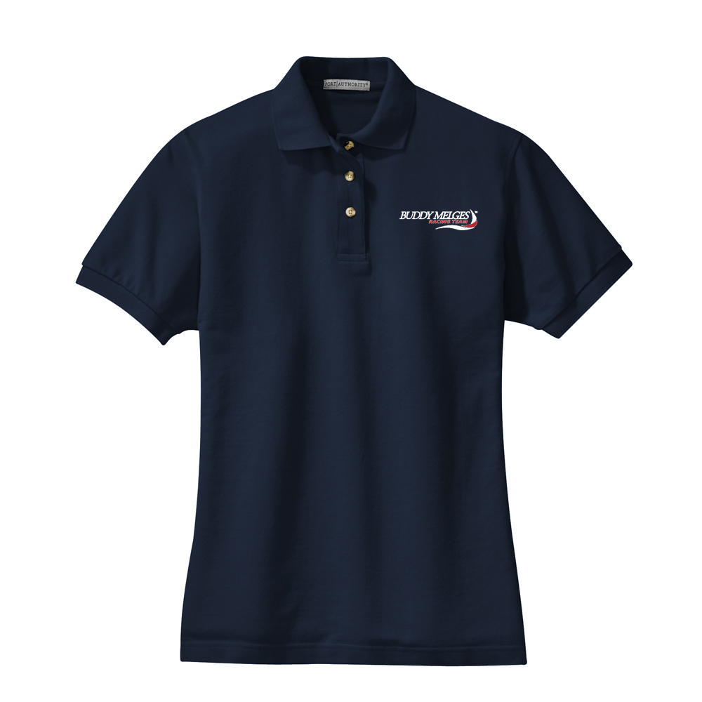 Buddy Melges Racing Team - Women's Cotton Polo (BMR102)