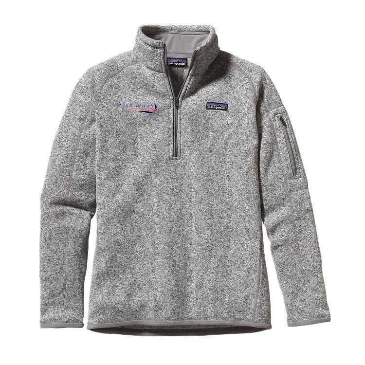 Buddy Melges Racing Team - Women's Patagonia Better Sweater 1/4 Zip Fleece (BMR505)