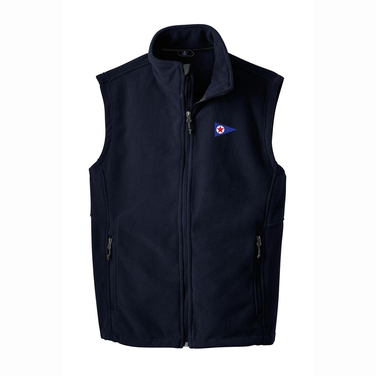 Barnstable Yacht Club - Men's Value Fleece Vest (BNY403)