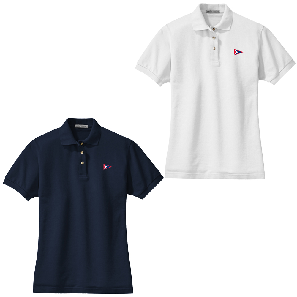 Biddeford Pool Yacht Club - Women's Cotton Polo