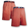 Mens-Breton-Red-Plain-Front-Shorts