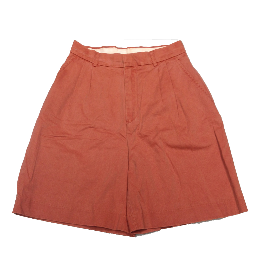 GREAT POINT W'S BRETON RED PLEATED SHORTS