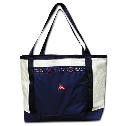 BRYC - ZIP TOP SAILCLOTH TOTE (BRYC703)