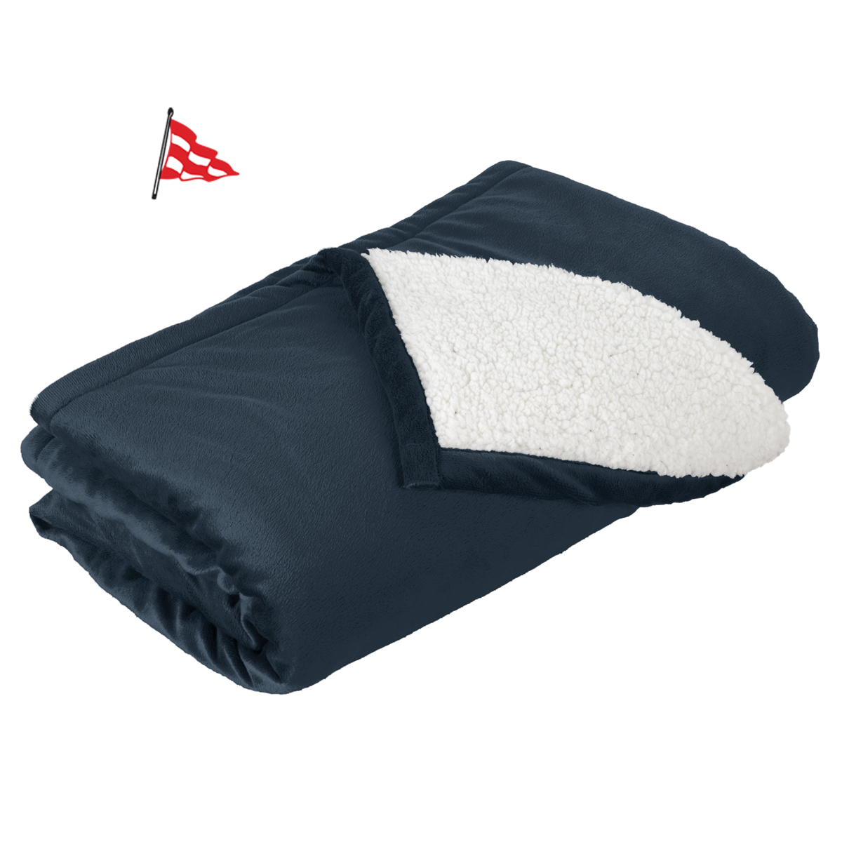 Black Rock Yacht Club - Fleece Blanket (BRYC704)