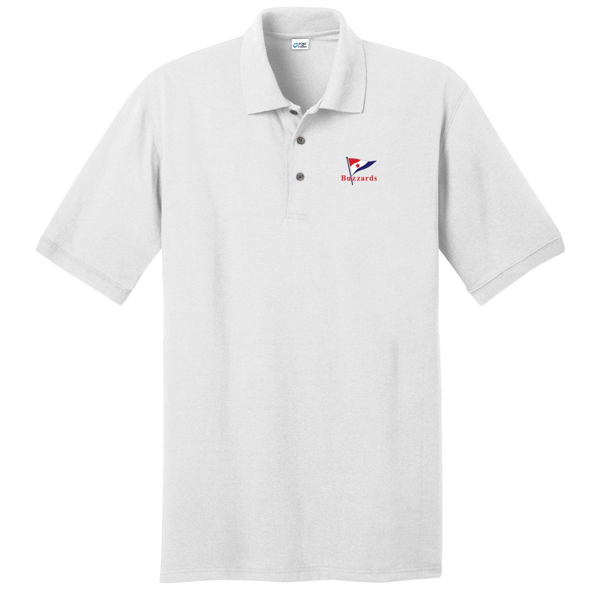 Buzzards Yacht Club - Men's Cotton Polo (BUZ101)