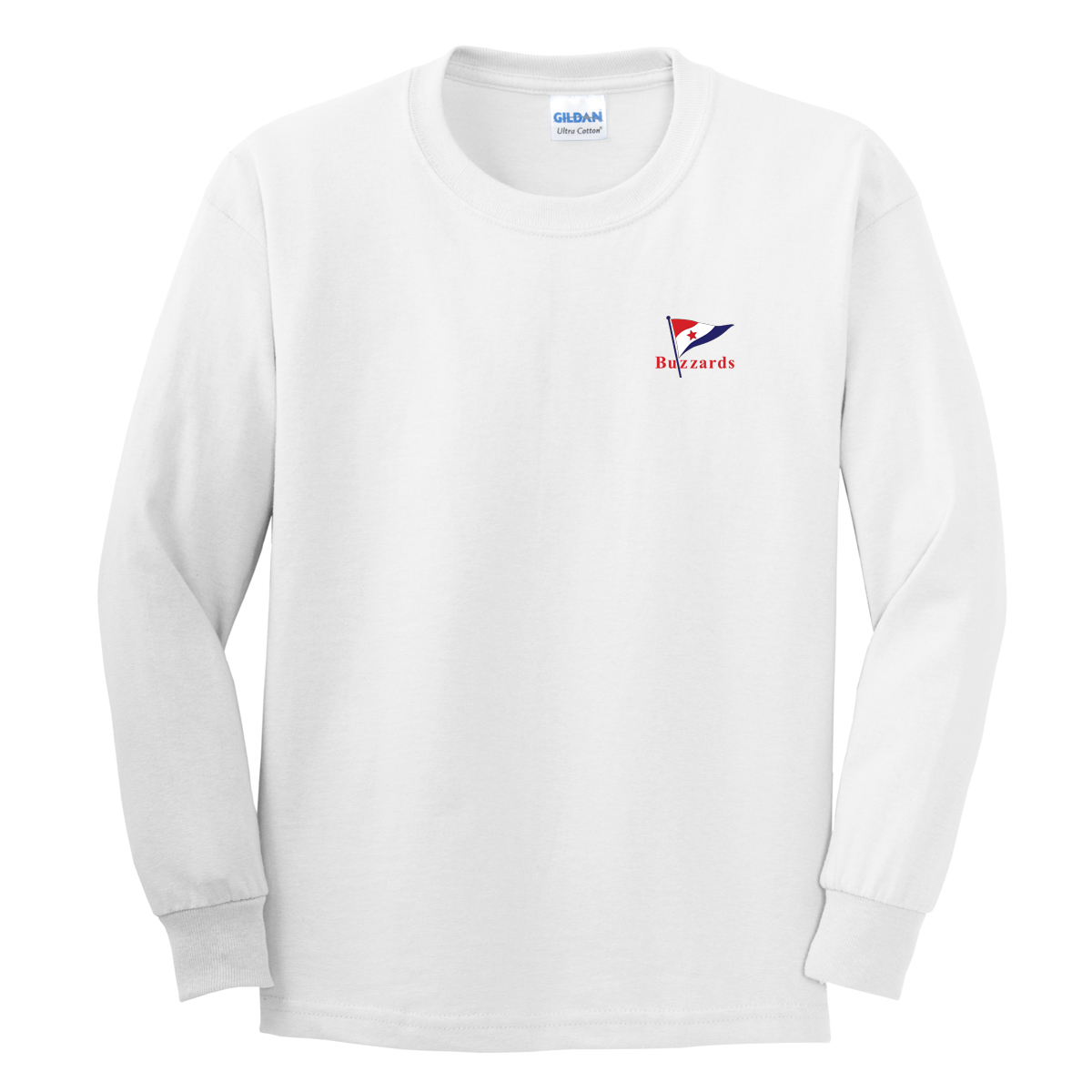 Buzzards Yacht Club - Men's Long Sleeve Cotton Tee