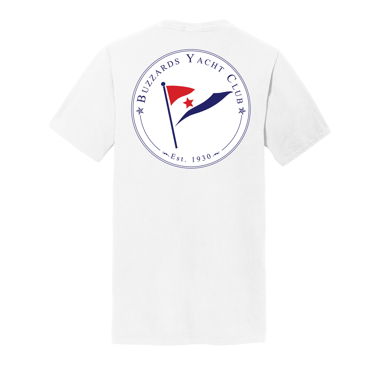 Buzzards Yacht Club - Men's Short Sleeve Junior Member Tee