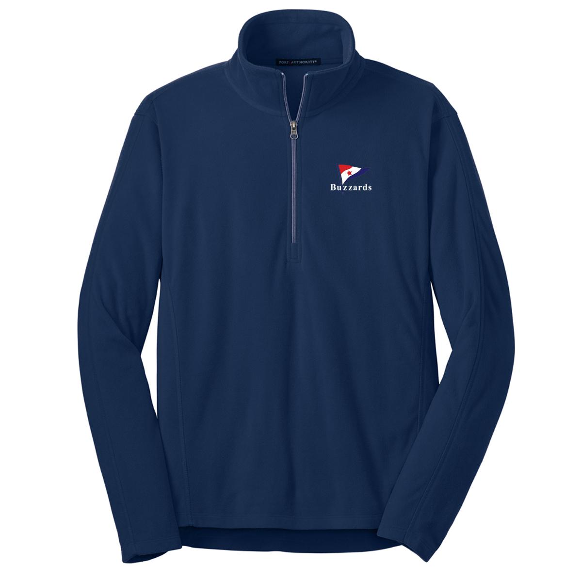 Buzzards Yacht Club - Men's Fleece Pullover (BUZ501)