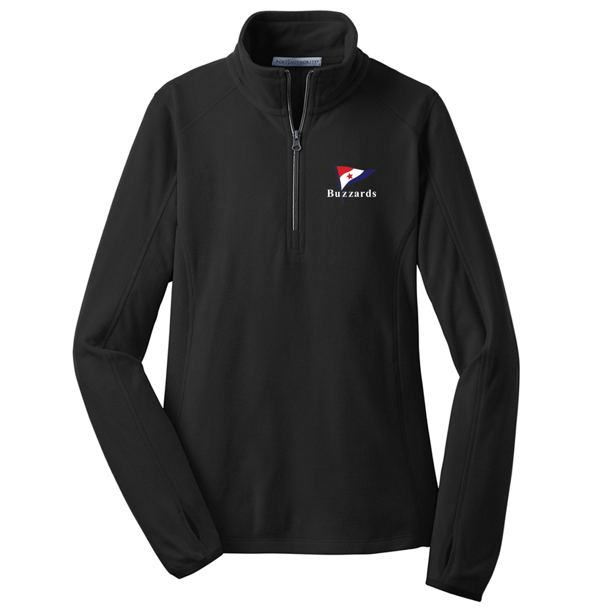 Buzzards Yacht Club - Women's Fleece Pullover (BUZ502)