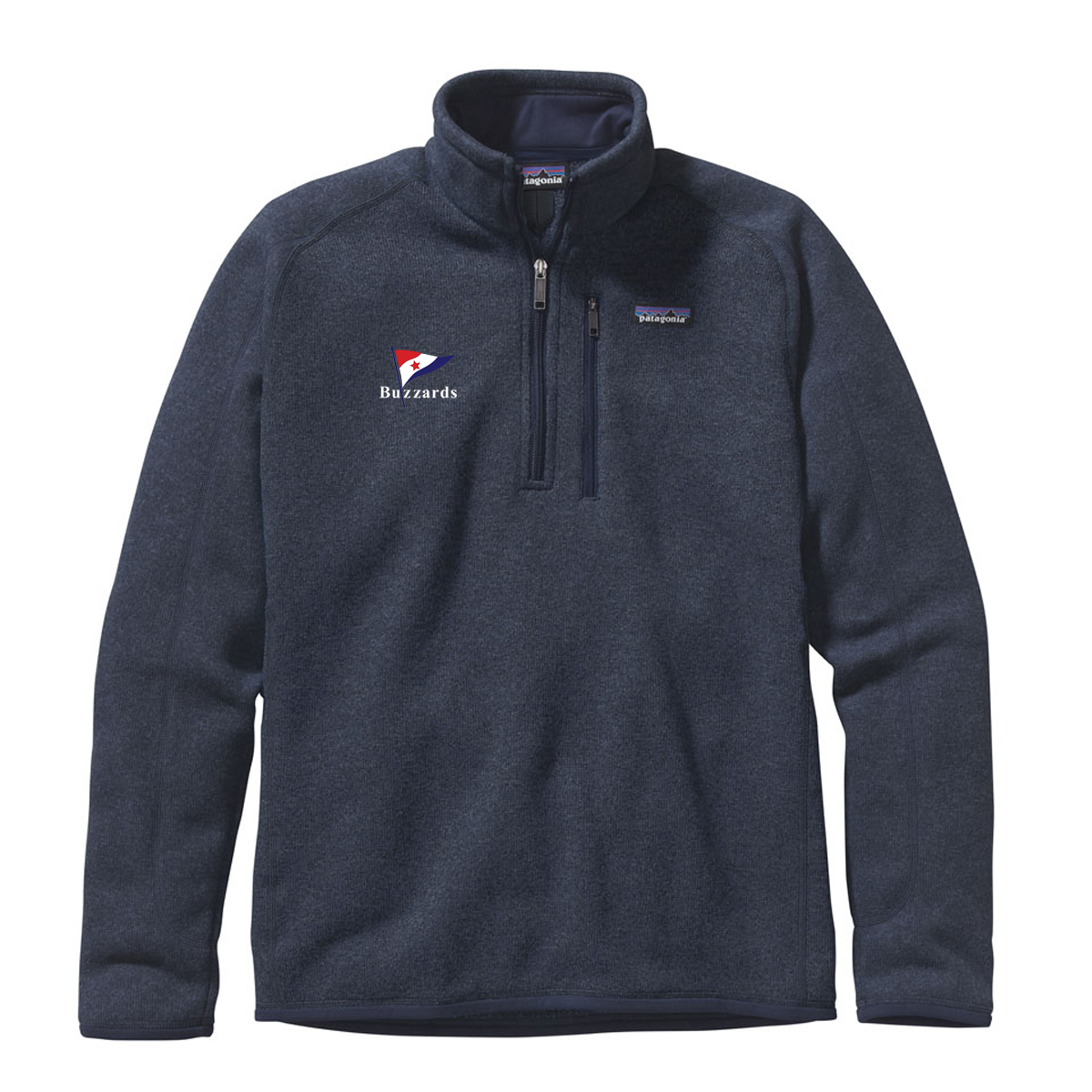 Buzzards Yacht Club - Men's Patagonia Better Sweater 1/4 Zip