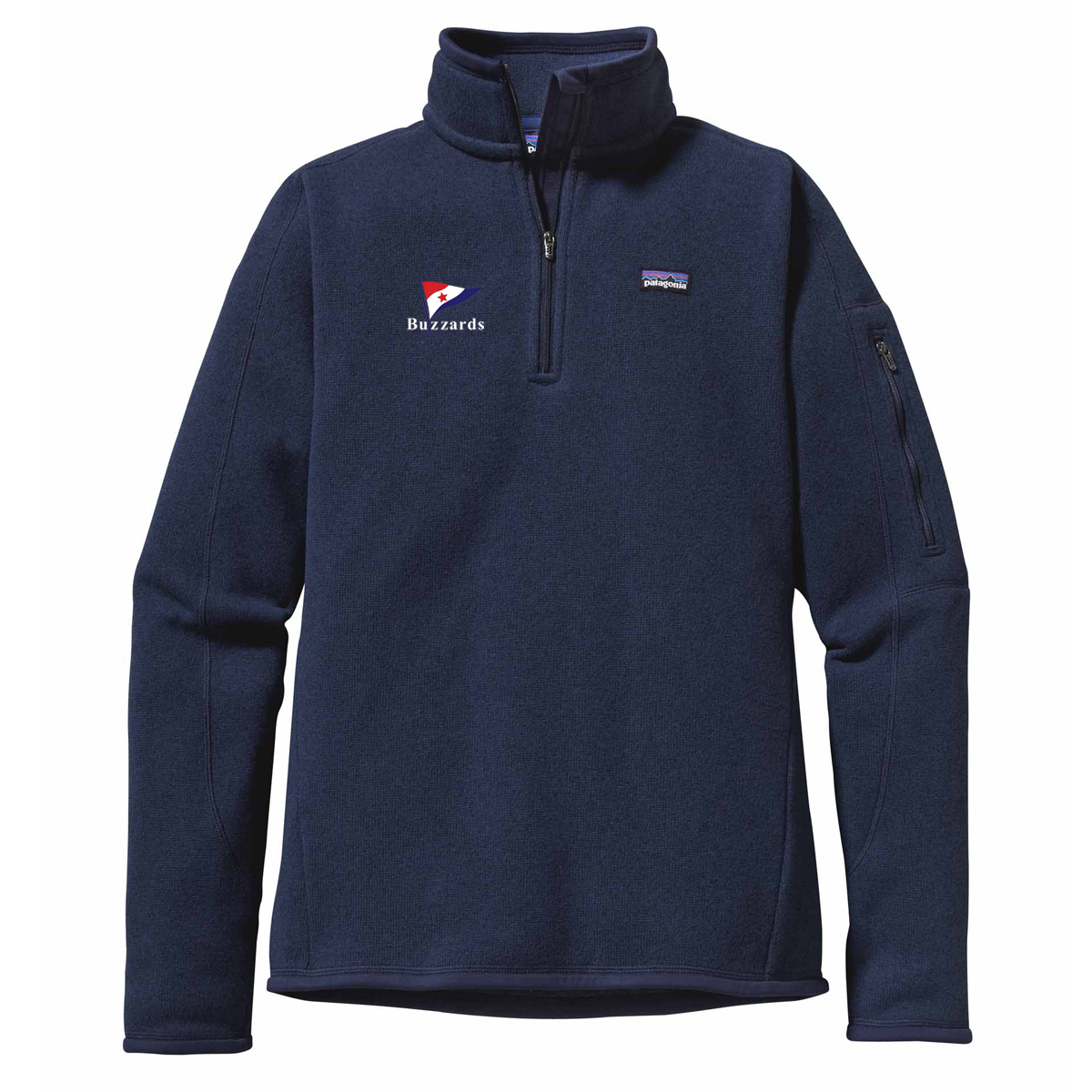BUZZARDS YC - W'S PATAGONIA 1/4 ZIP BETTER SWEATER