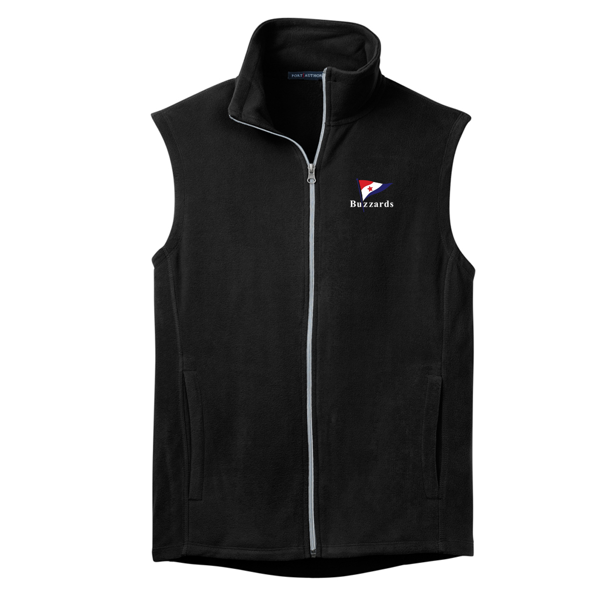 BUZZARDS YC - M'S MICRO FLEECE VEST