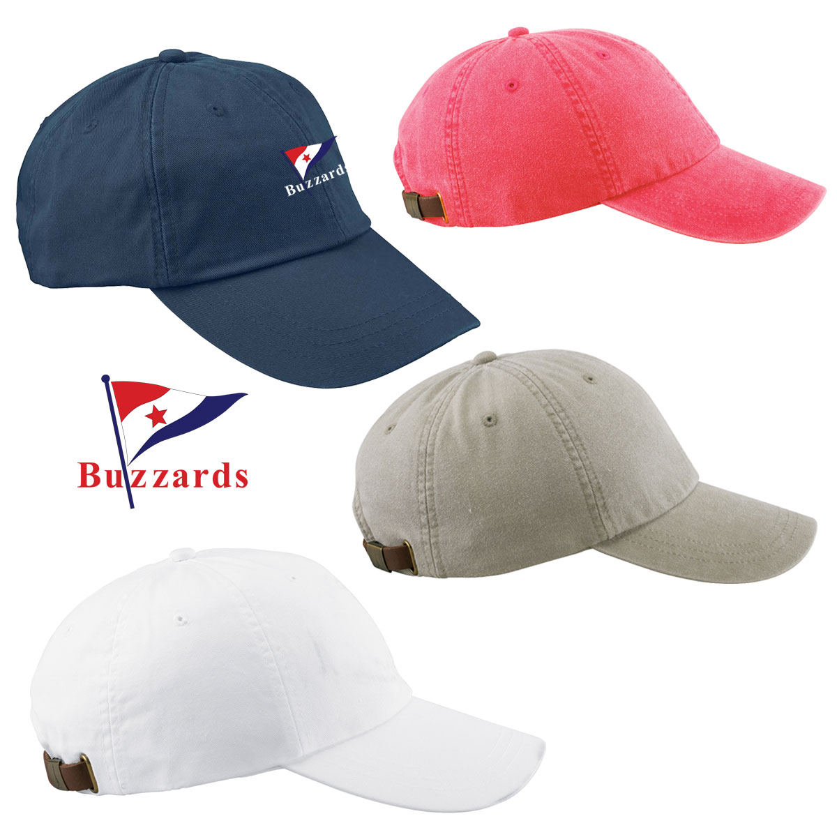 Buzzards Yacht Club - Adjustable Cap